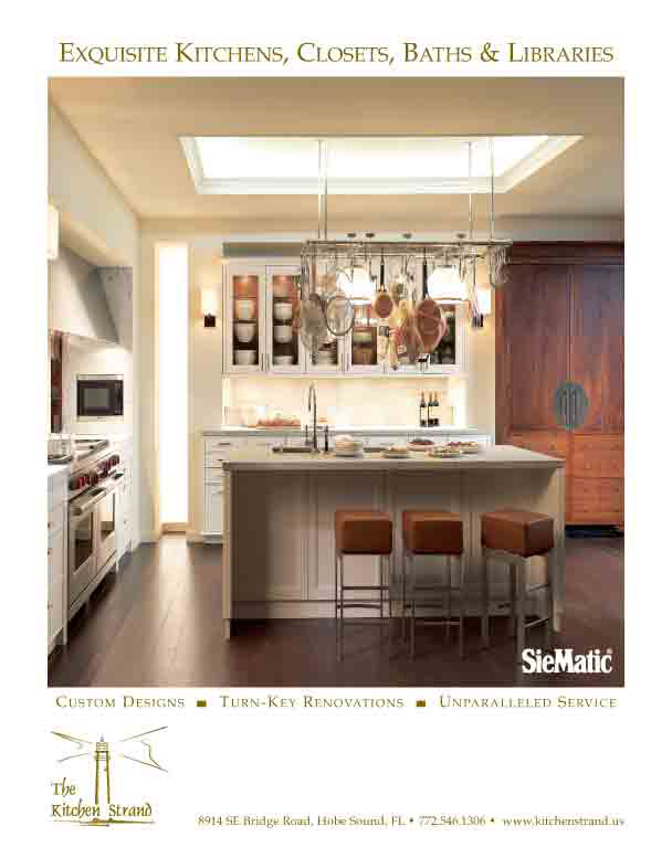 Millionaire Kitchens Featuring Custom Designs In S FL Home Magazines - Kitchen ad